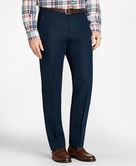 Clark Fit Linen and Cotton Chinos