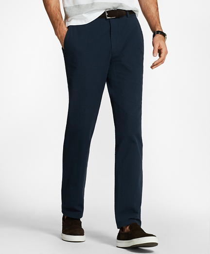 Clark Fit Seersucker Pants