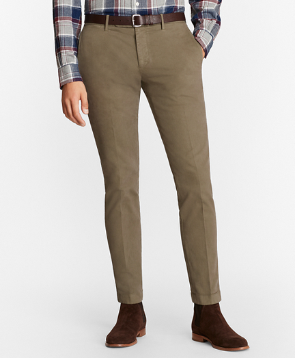 Soho Fit Garment-Dyed Stretch Broken Twill Chinos