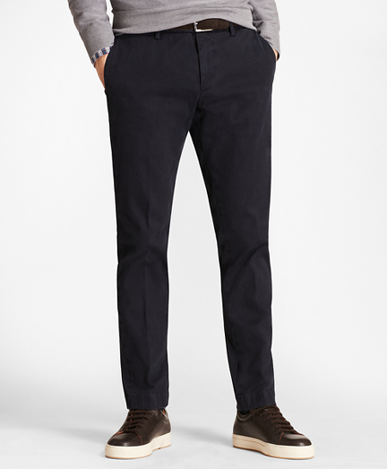 Soho Fit Garment-Dyed Stretch Cavalry Twill Chinos