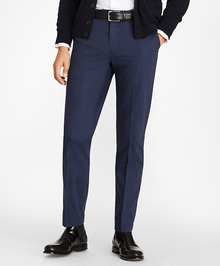 Milano Fit Stripe Stretch Advantage Chino® Pants