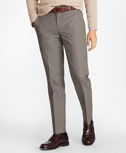 Clark Fit Mini-Check Stretch Advantage Chino® Pants