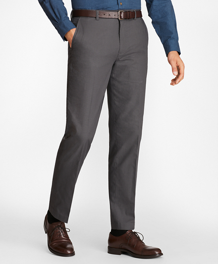 Clark Fit Mini-Check Stretch Advantage Chinos®