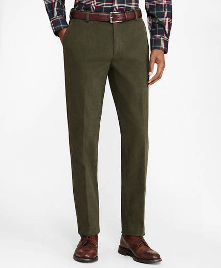 Milano Fit Brushed Twill Stretch Chinos