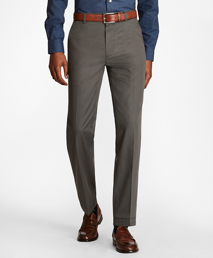 Milano Fit Multi-Check Stretch Advantage Chinos®