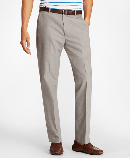 Clark Fit Glen Plaid Stretch Advantage Chinos®
