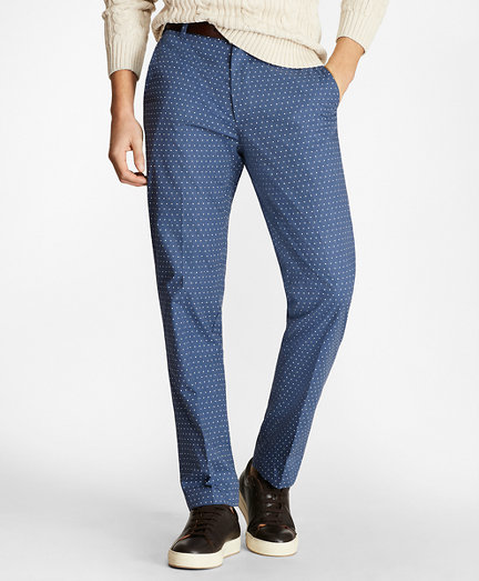 Clark Fit Melange Printed Chinos