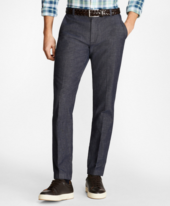 Soho Fit Stretch Indigo Chinos
