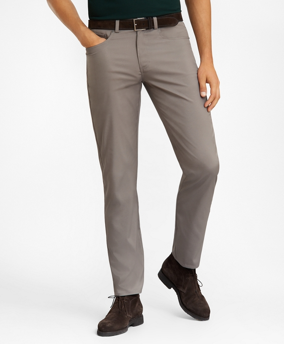 Five-Pocket Tech Pants Charcoal