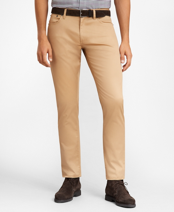 Lightweight Stretch Advantage Chino® Five-Pocket Pants British Khaki