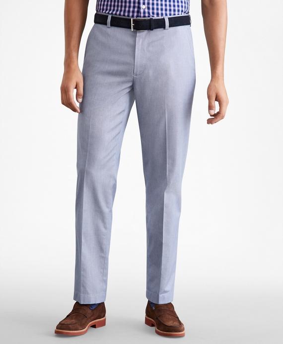 Clark Fit Dobby Stretch Advantage Chino® Pants Blue