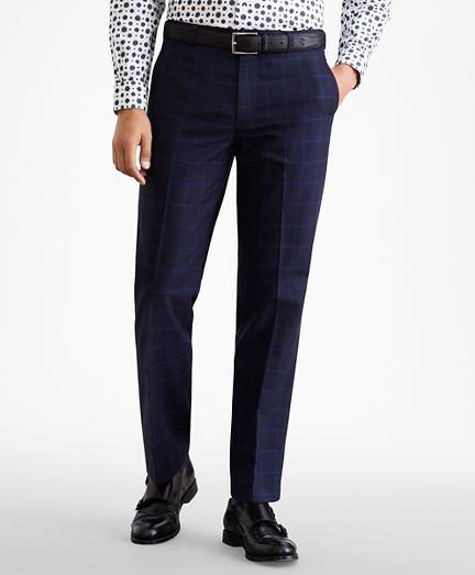 Clark Fit Windowpane Stretch Advantage Chino® Pants