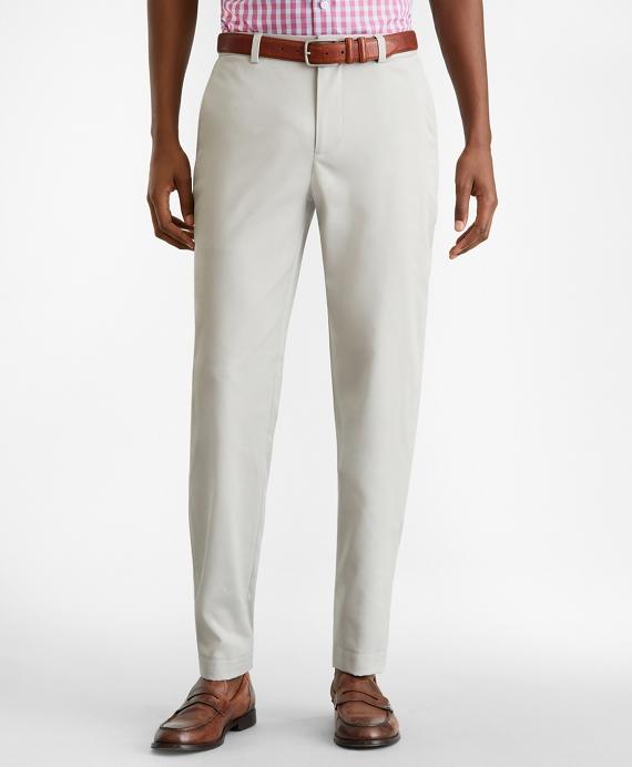 Milano Fit Tech Chino Pants Grey