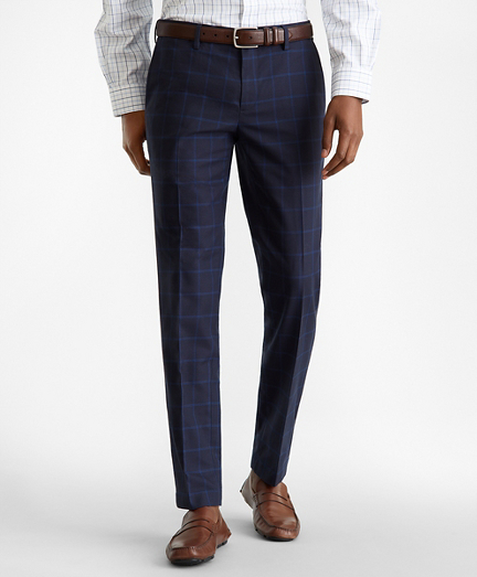 Soho Fit Glen Plaid Stretch Advantage Chino® Pants