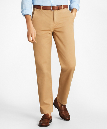 Clark Fit Garment-Dyed Stretch Chino Pants