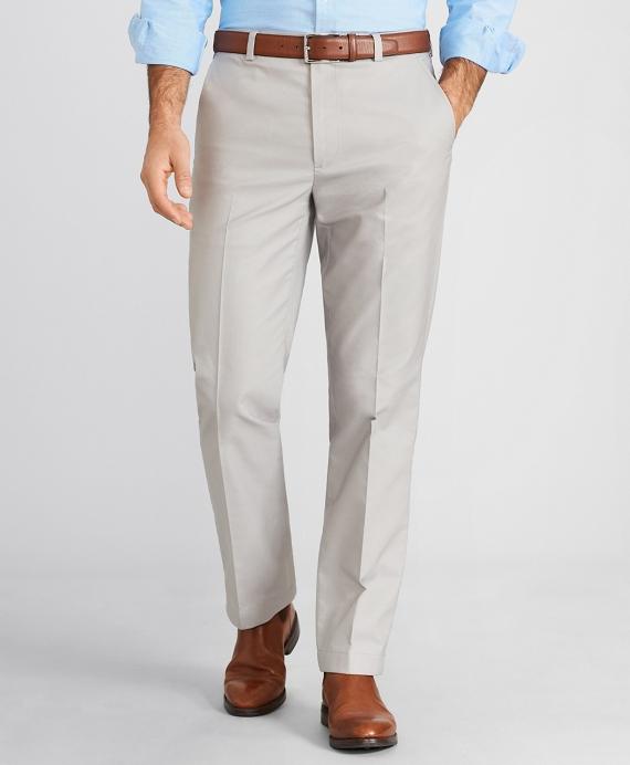 Clark Fit Dobby Dot Stretch Advantage Chino® Pants Grey