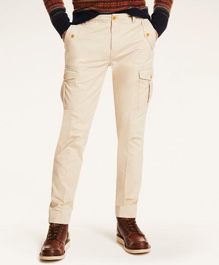 Cotton Stretch Cargo Pants