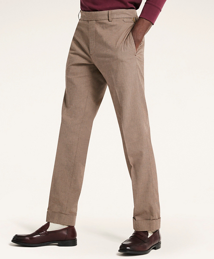 Milano Fit Houndstooth Chino Pants