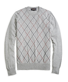 Cashmere Raker Crewneck Sweater