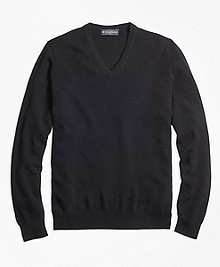 Cashmere V-Neck Sweater-Basic Colors