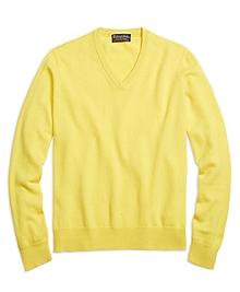 Cashmere V-Neck Sweater