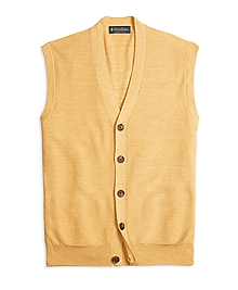 Supima® Cotton Bird's-Eye Vest