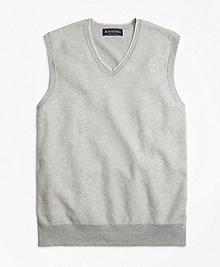 Supima® Cotton Twill Stitch Vest