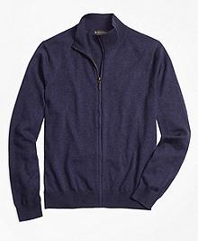 Supima® Cotton Full-Zip Cardigan