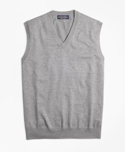 Supima® Cotton V-Neck Vest