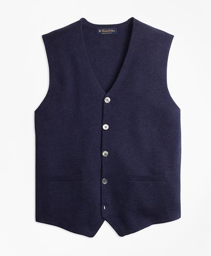 Supima® Cotton Sweater Waistcoat
