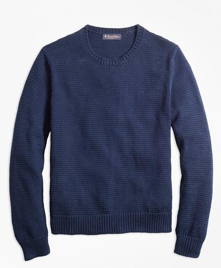 Pima Cotton Crewneck Sweater