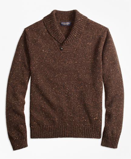 Donegal Shawl Collar Sweater