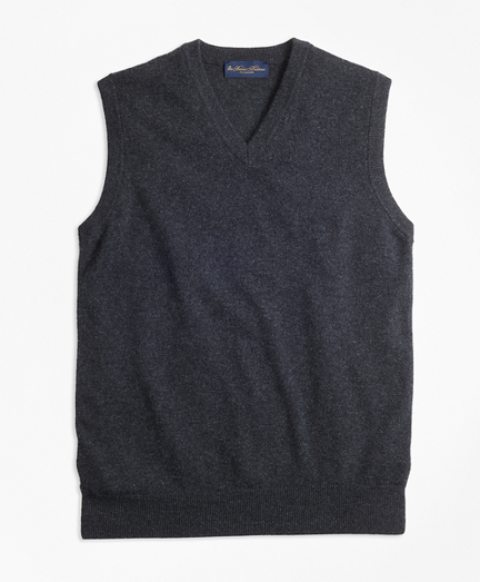 V-Neck Cashmere Sweater Vest