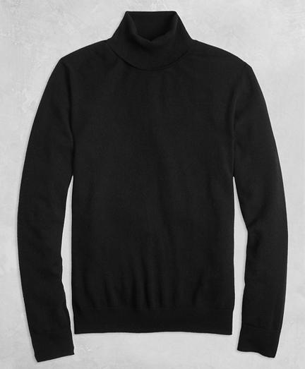 Golden Fleece® 3-D Knit Cashmere Turtleneck