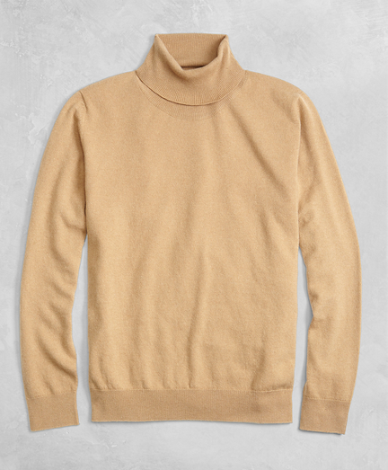 Golden Fleece® 3-D Knit Cashmere Turtleneck