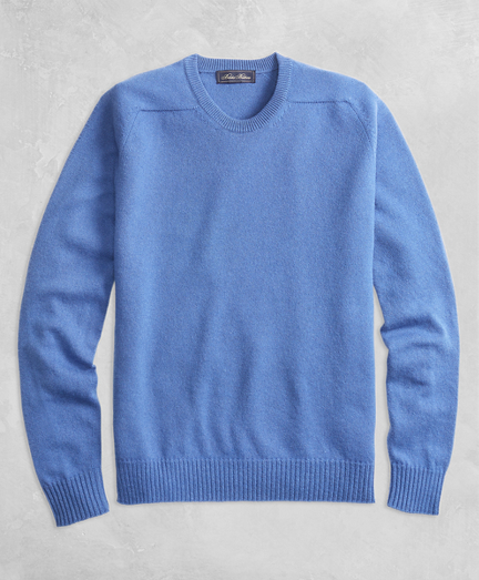 Golden Fleece® 3-D Knit Cashmere Crewneck Sweater