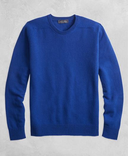 Golden Fleece® 3-D Knit Cashmere Crewneck Sweater