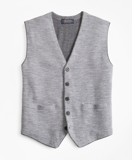 Merino Wool Sweater Waistcoat