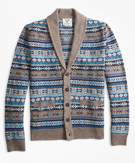 Limited Edition Braemar™ Fair Isle Cardigan