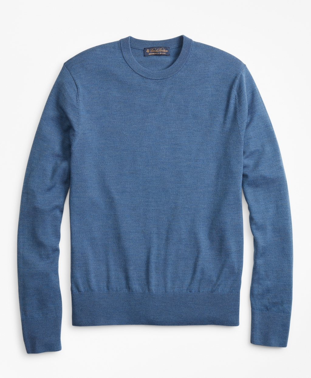 be9a162d25 BrooksTech Merino Wool Crewneck Sweater | Brooks Brothers