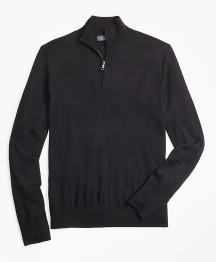 BrooksTech™ Merino Wool Half-Zip Sweater