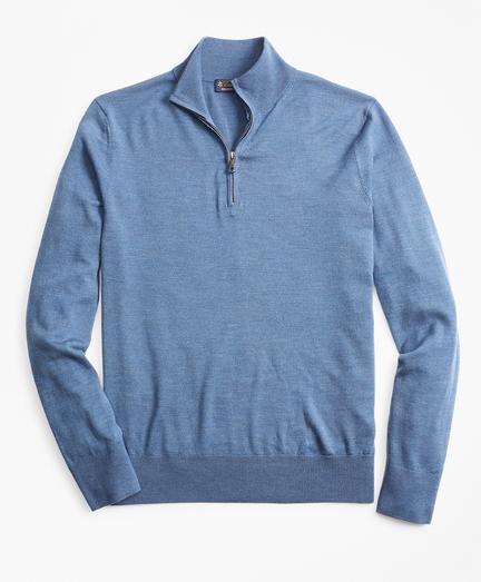 BrooksTech™ Merino Wool Half-Zip Sweater
