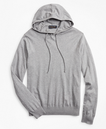 Silk and Cotton Hoodie