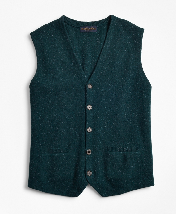 Donegal Waistcoat Teal