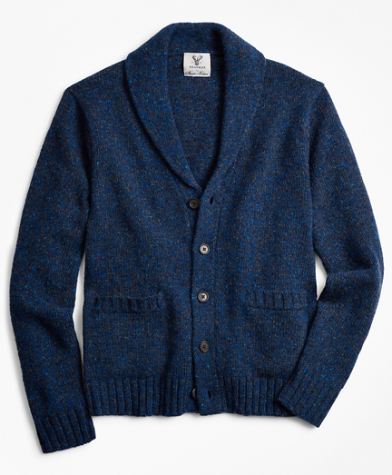 Limited Edition Braemar™ Marled Shawl Collar Cardigan