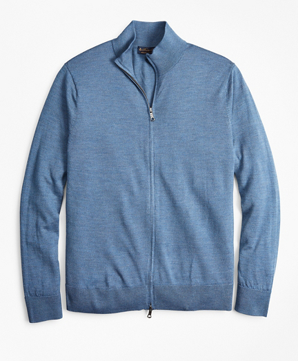 BrooksTech™ Merino Wool Full-Zip Sweater