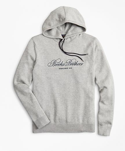 Supima® Cotton Logo Hoodie
