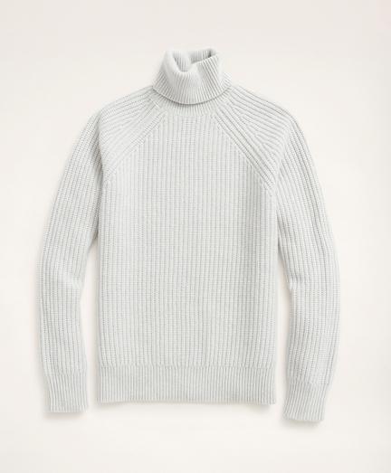 English Rib Turtleneck Sweater
