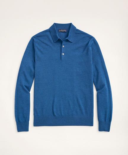 Merino Polo Sweater