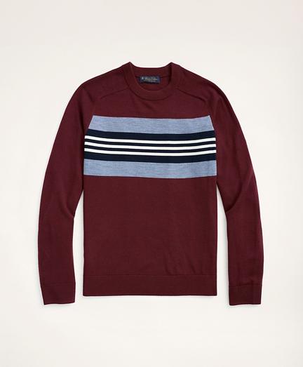 Merino Collegiate Stripe Sweater
